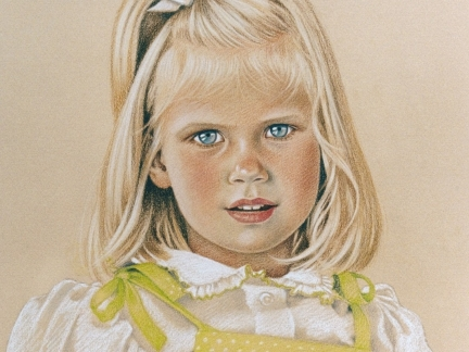 Children in Pastel